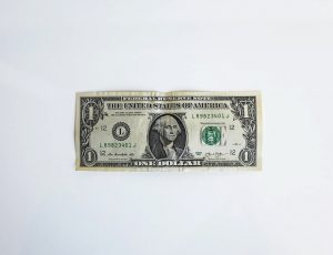 un billet de un dollars