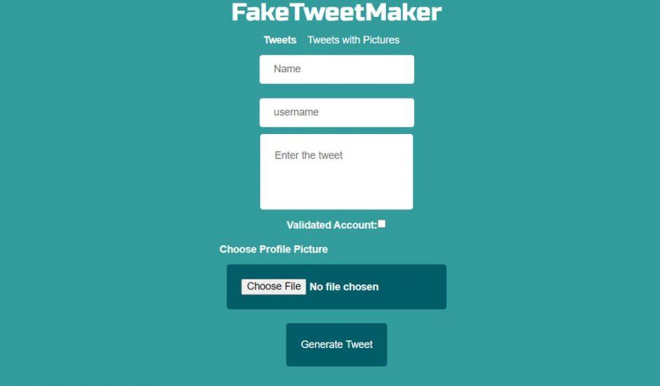 FakeTweetMaker