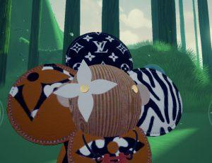 capture d'écran du jeu Louis Vuitton