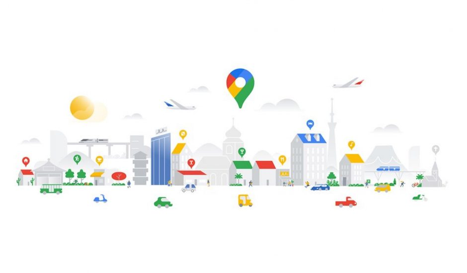 Illustration de Google Maps.