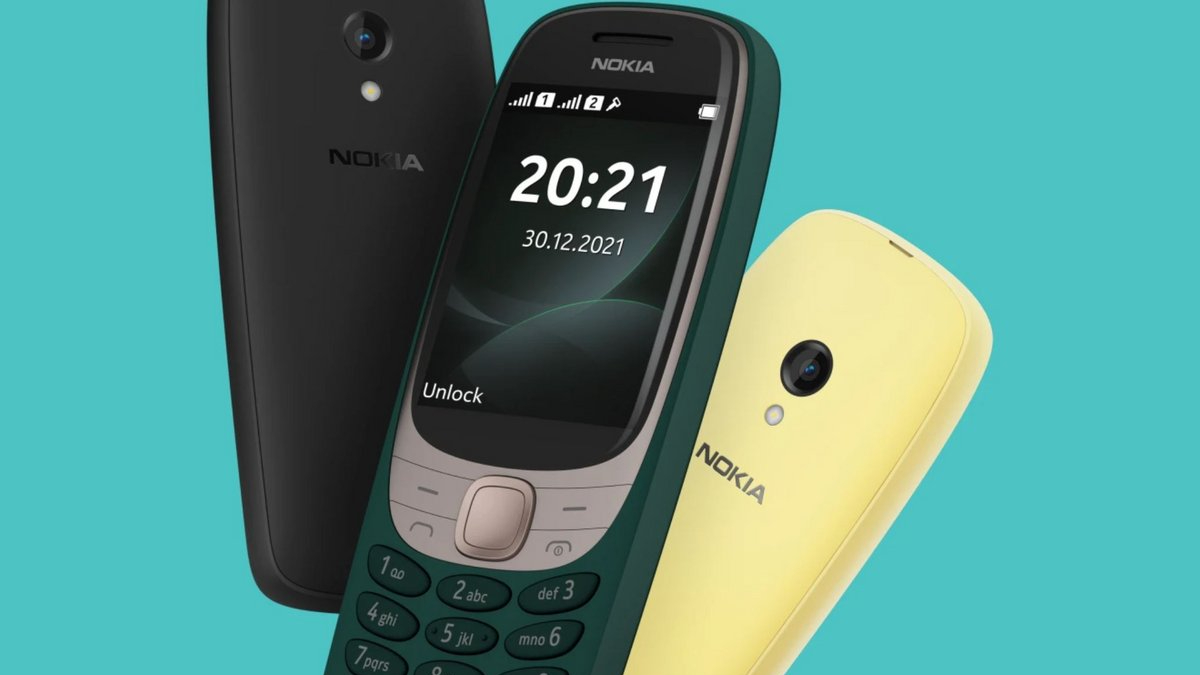 Le Nokia 6310 fait son retour en 2021.
