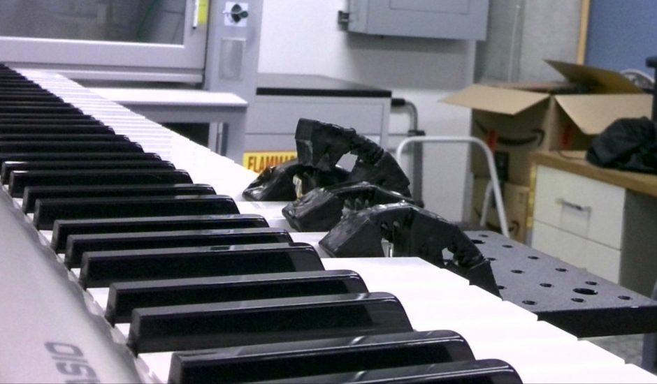 Aperçu du robot mou des chercheurs de l'UCR.
