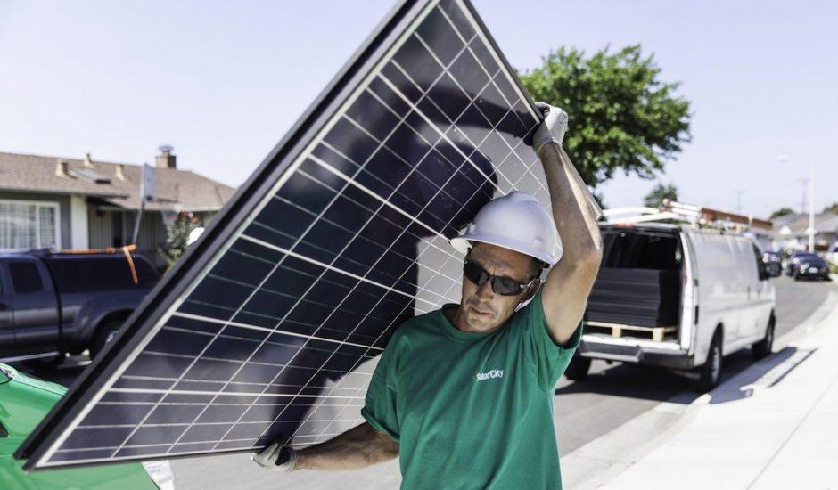 Aperçu d'un employé de SolarCity.