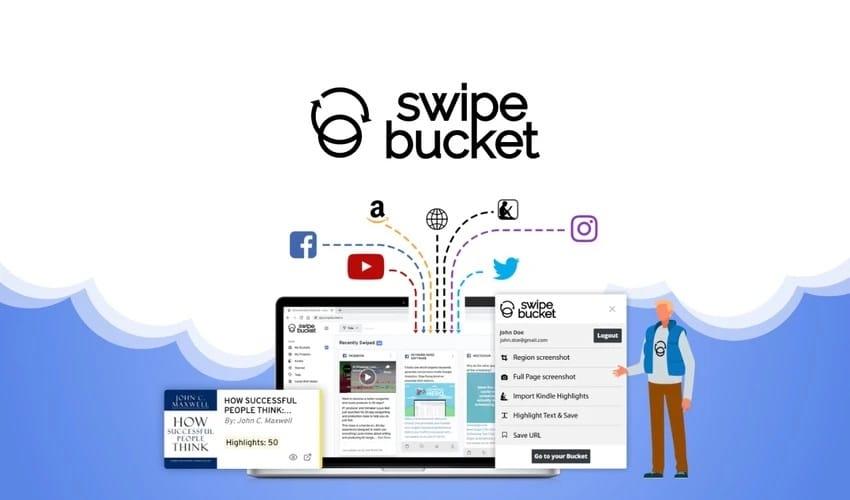 Swipebucket : un outil pour sauvegarder et organiser du contenu sur le web
