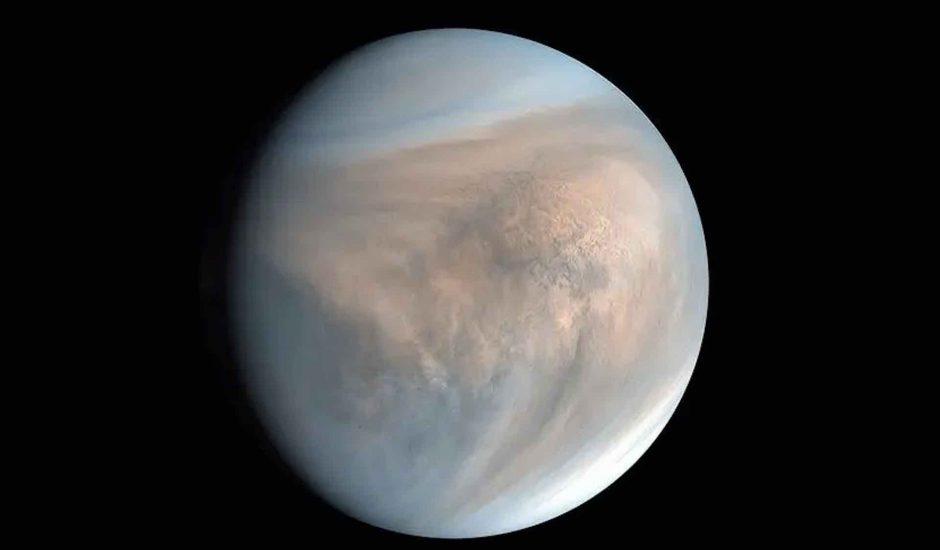 Aperçu de la planète Vénus.