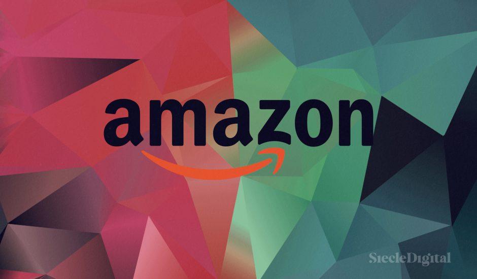 Illustration du logo d'Amazon.