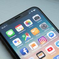 page d'accueil d'un iphone