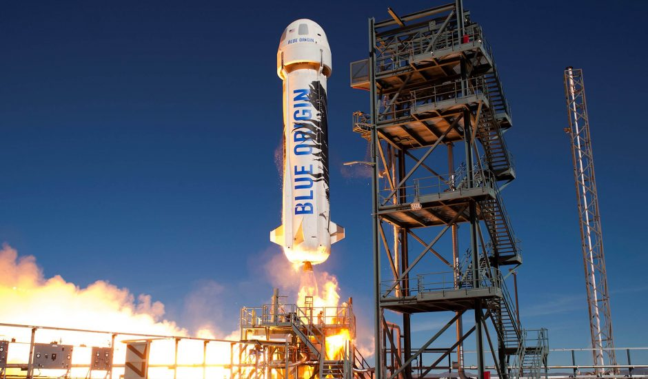 La fusée New Shepard.