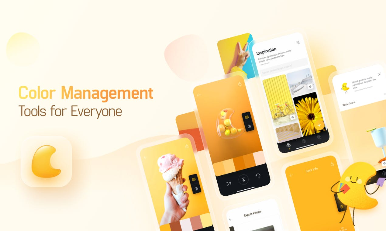 Colorgizes : une appli gratuite pour créer des palettes de couleurs