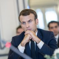 Aperçu d'Emmanuel Macron.