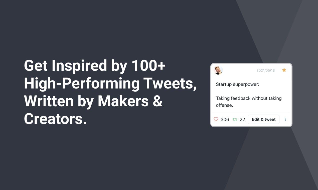 exemple de tweet performant
