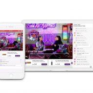 présentation d'une sessions de live shopping utilisant Livescale