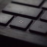 une touche de clavier avec le logo windows