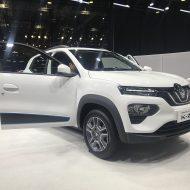 La Renault K-ZE présenté lors d'un salon