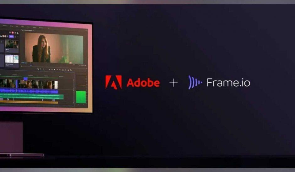 Frame.io est racheté par Adobe.