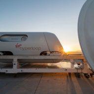 Capsule Virgin Hyperloop