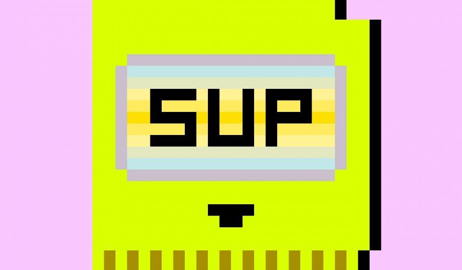 Image d'une cartouche de jeu pixellisée