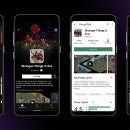 Captures d'écrans du service Netflix Gaming sur l'application Android en pologne.