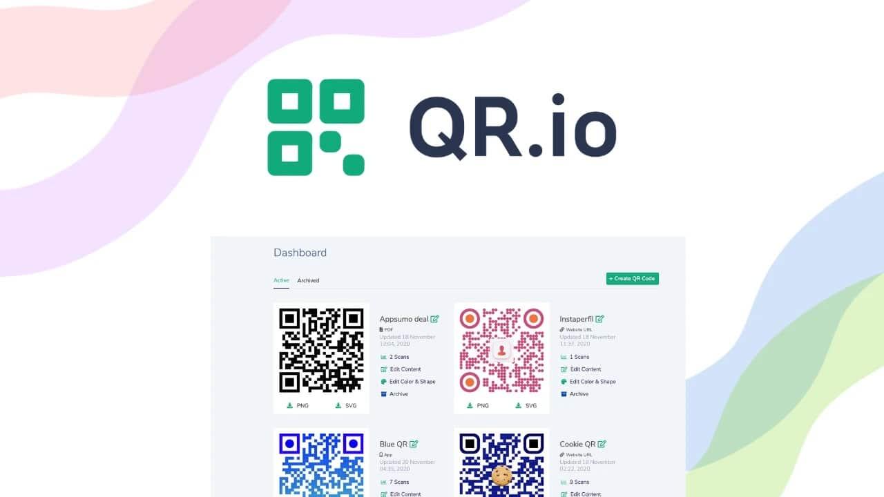 QR.io : un outil no-code pour créer des QR codes personnalisés à l'infini