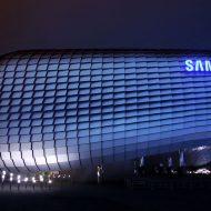 Expopavillon Samsung en forme de bulle
