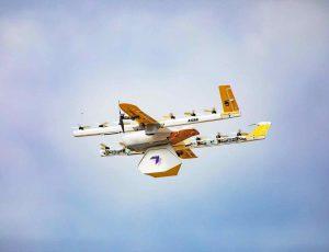 Aperçu d'un drone Wing.