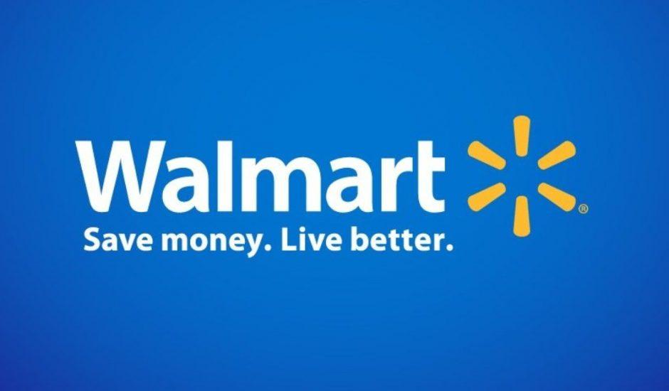 Logo et slogan de Walmart
