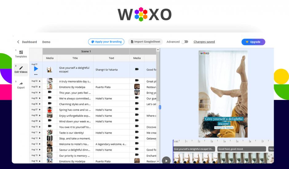 aperçu de l'outil Woxo
