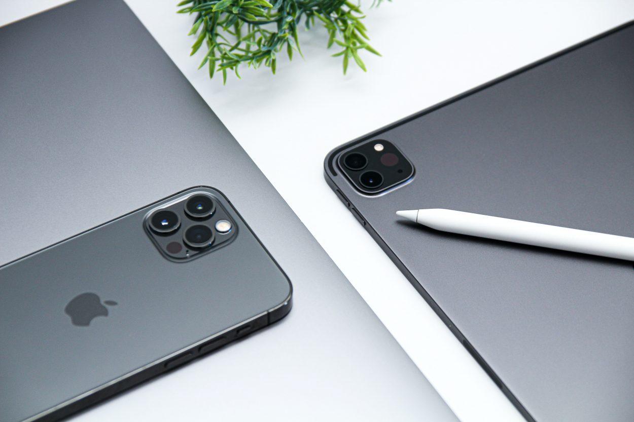 Des appareils Apple.