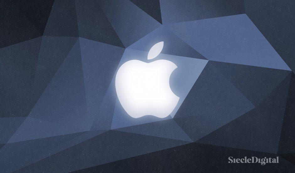 Illustrations du logo d'Apple.