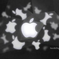 Illustration du logo d'Apple.