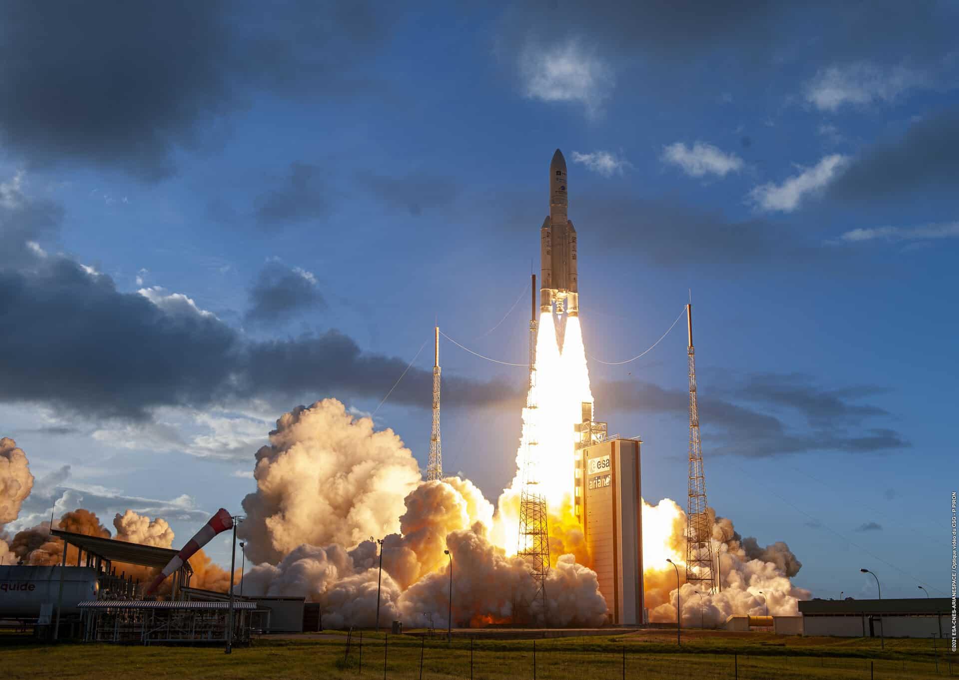 Succès pour Ariane 5 et le lancement du satellite révolutionnaire Quantum