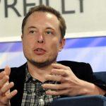 Portrait de Elon Musk.