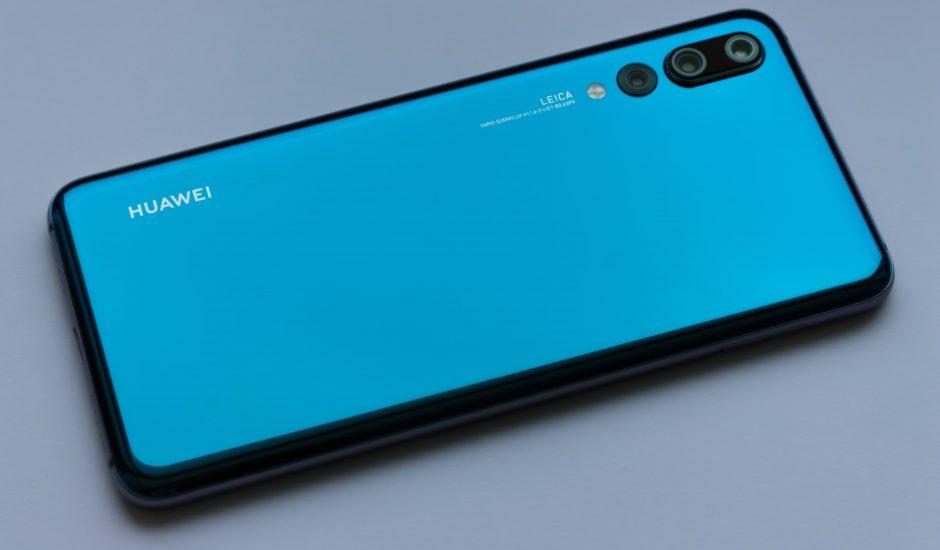 Un smartphone Huawei