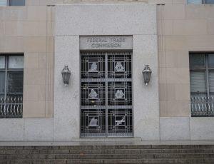 devanture d'un bâtiment de la FTC à Washington
