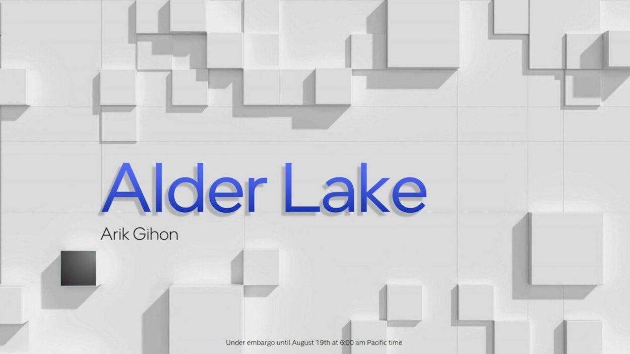 Illustration d'Alder Lake.