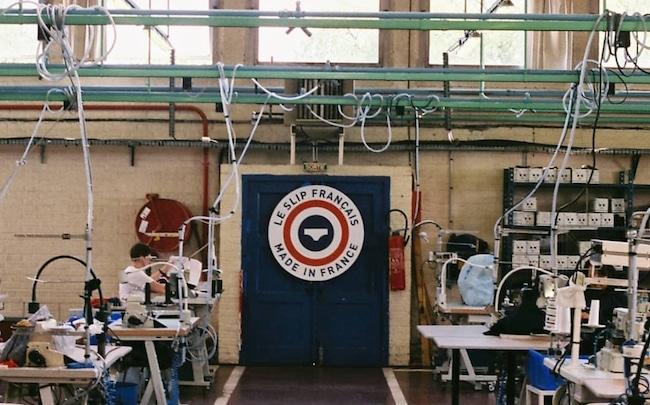 usine le slip français