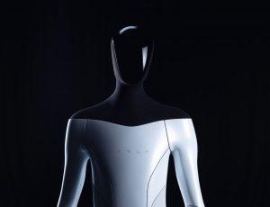 Le robot humanoïde de Tesla.