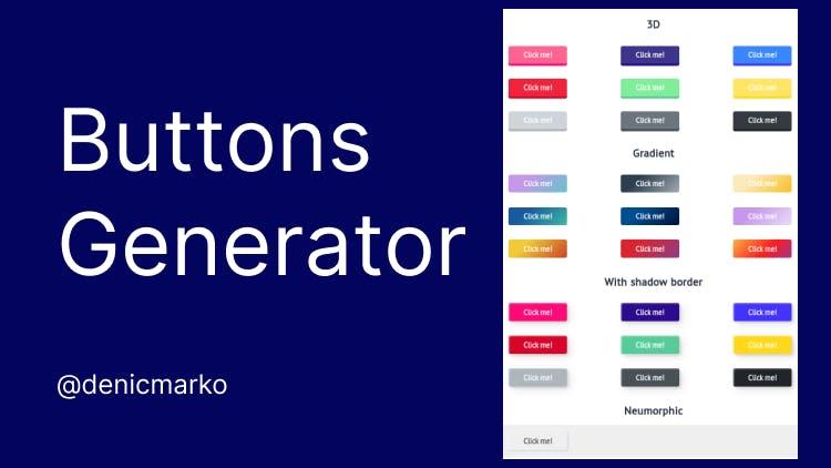 Buttons Generator aperçu