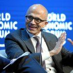 Satya Nadella PDG de Microsoft