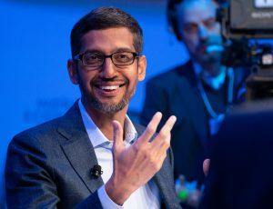 Sundar Pichai le PDG de Google