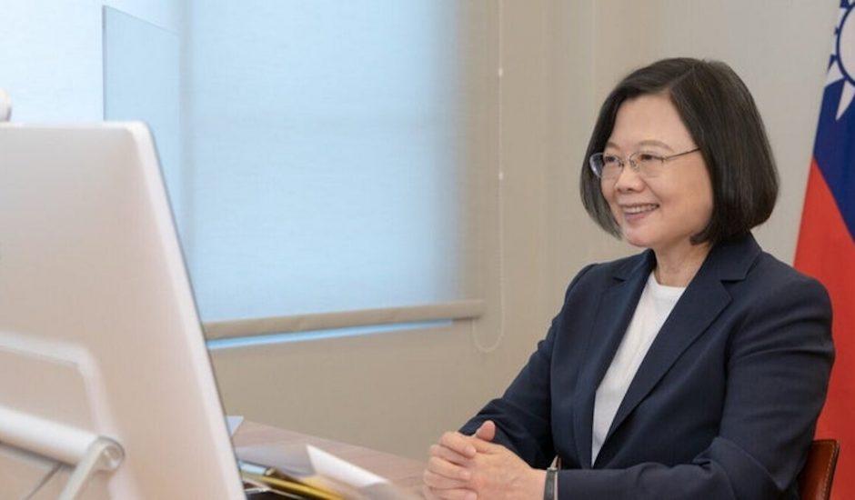 Aperçu de la présidente taïwanaise.