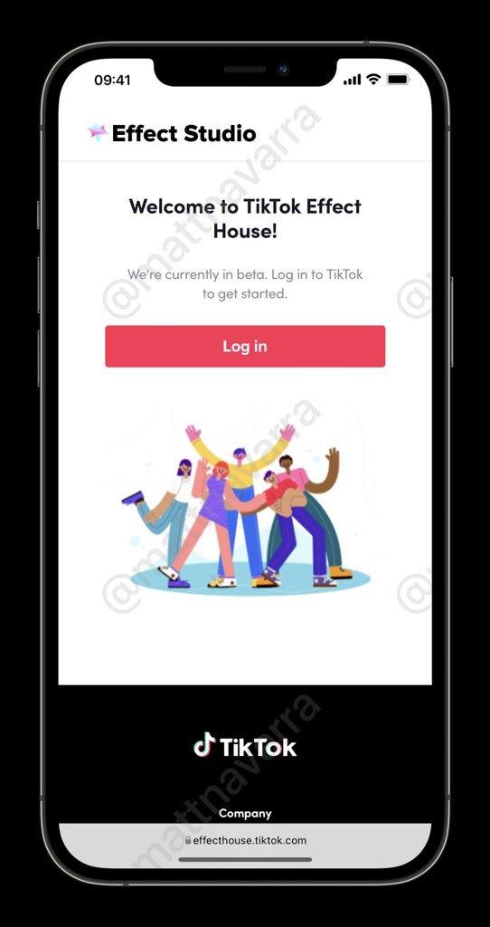 présentation de TikTok Effect Studio dans Effect House