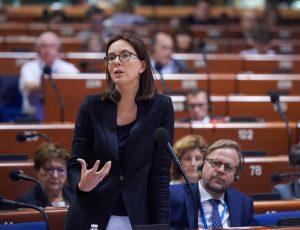 Amélie de Montchalin au Conseil de l'Europe en 2019