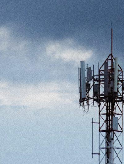 Aperçu d'une antenne 5G.
