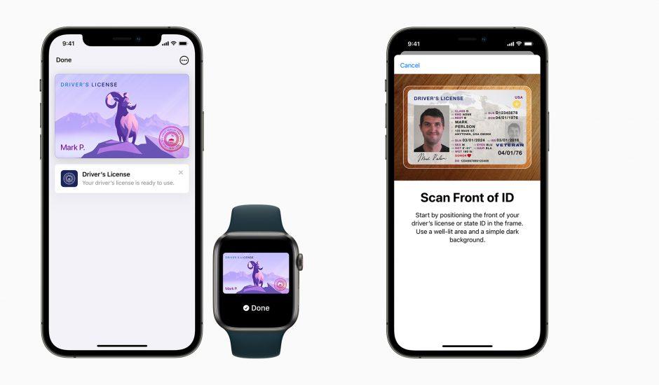 Les Américains peuvent maintenant ajouter leur permis de conduire à Apple Wallet.
