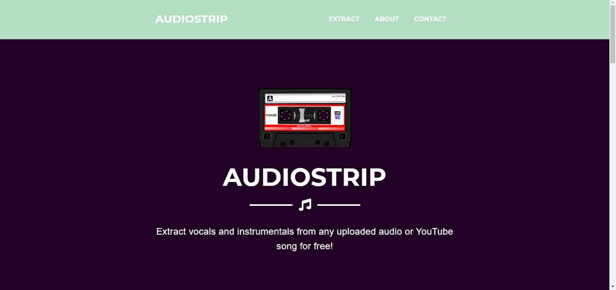 Cet outil gratuit permet d'extraire les voix de n'importe quelle chanson