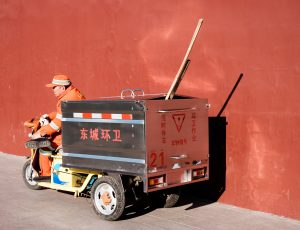 Un travailleur chinois.