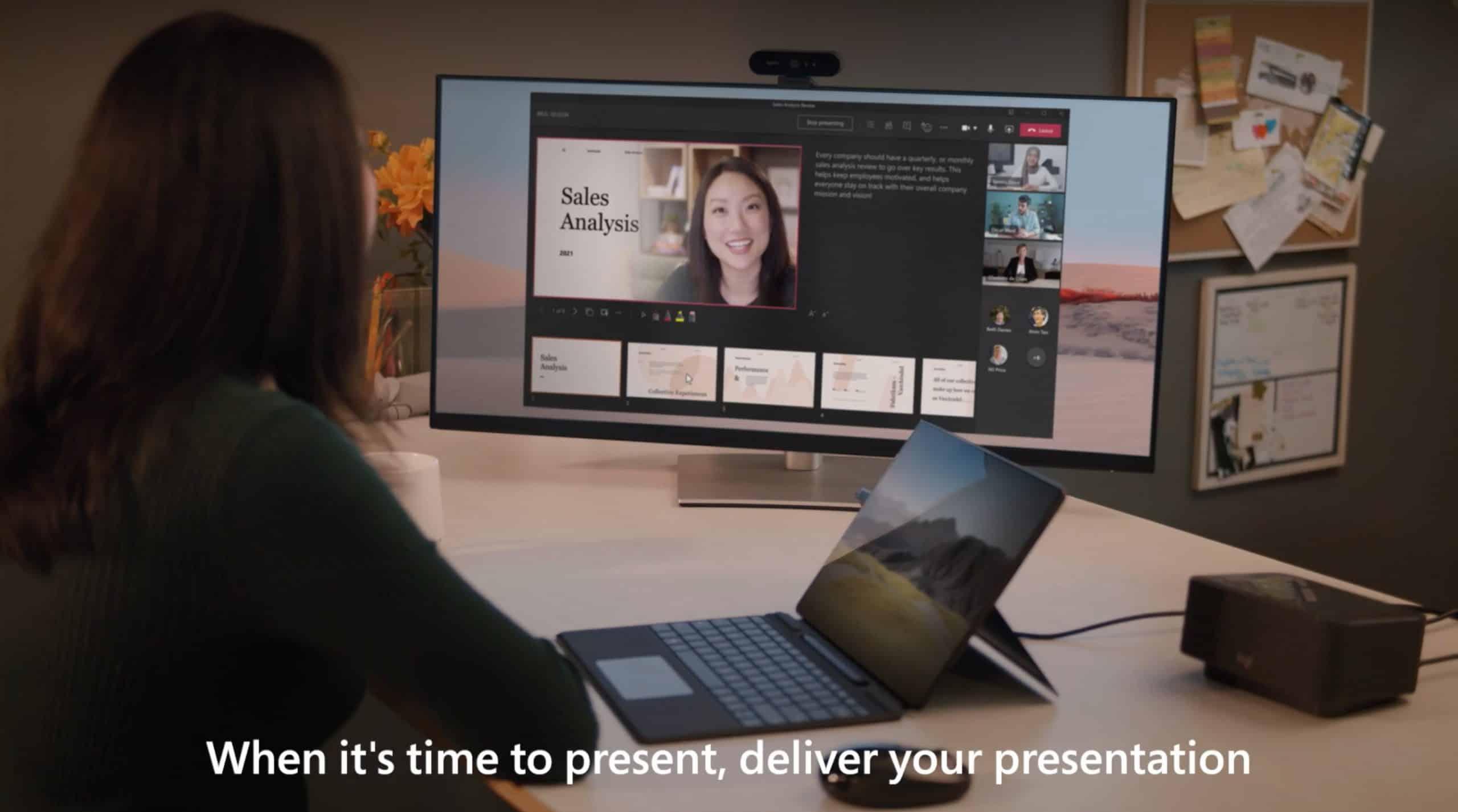 Utilisation de Cameo, le nouveau service mêlant PowerPoint à Teams