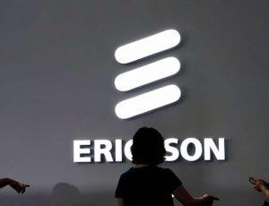 Logo d'Ericsson.