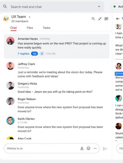 Gmail devient peu à peu une plateforme aux usages variables.